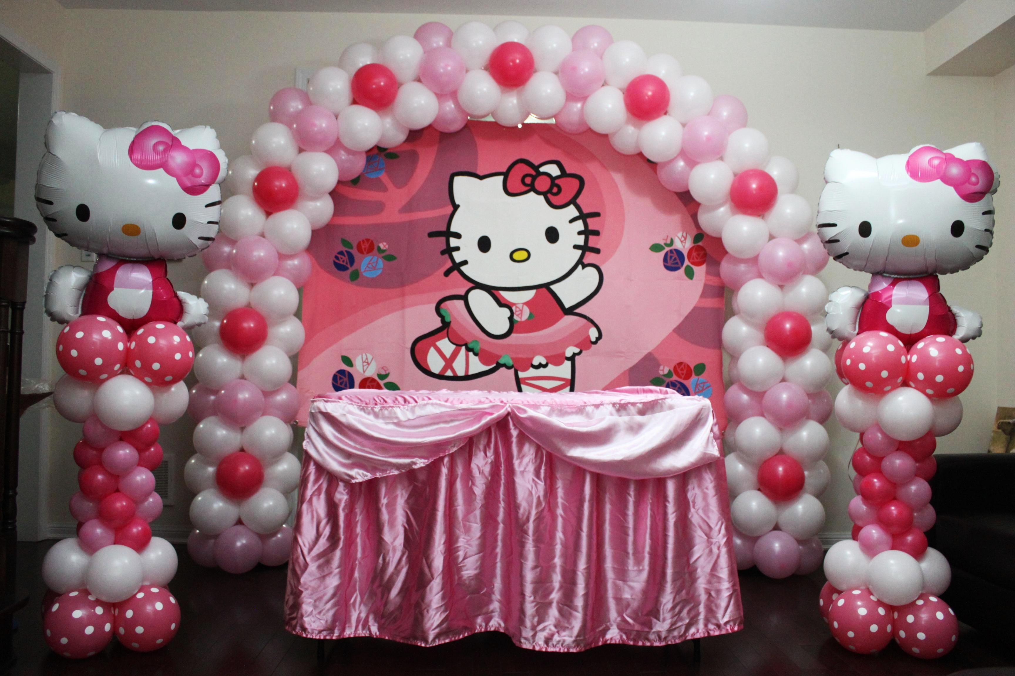 Hello kitty theme party cyprus bar catering