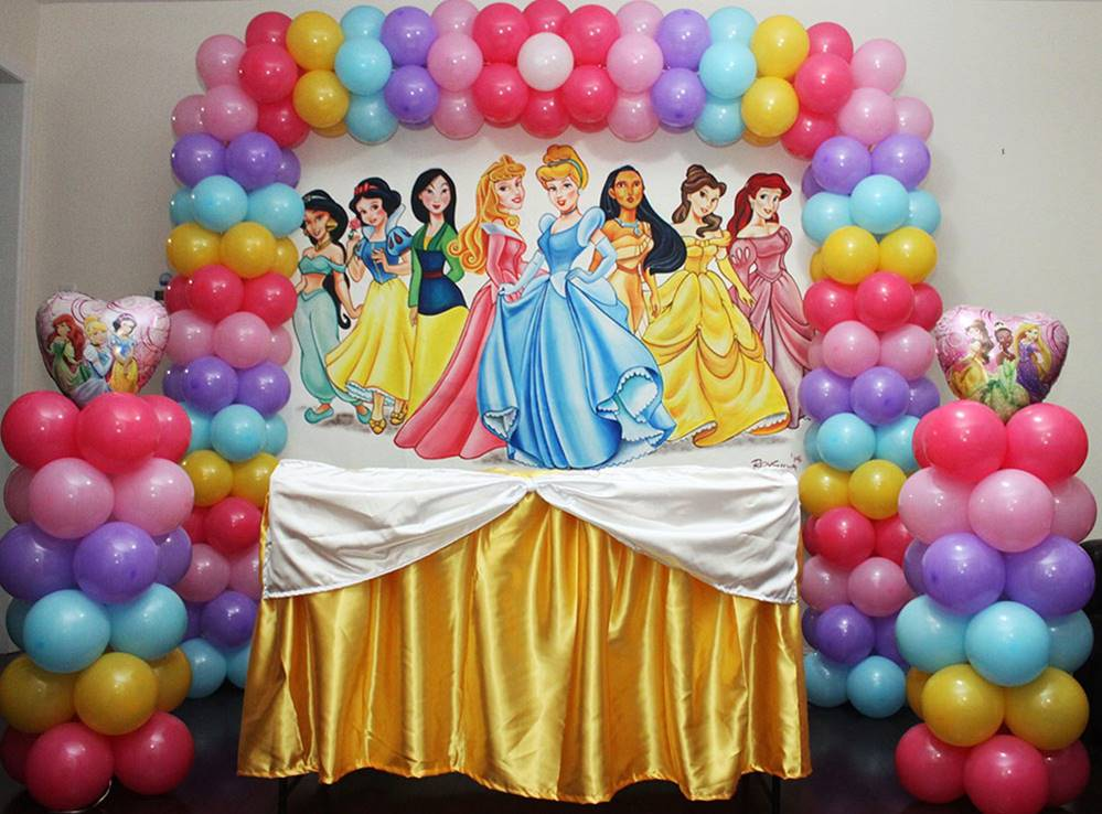 Disney Princess Theme Party